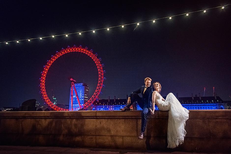Emilia i Tomasz - sesja plenerowa w Londynie