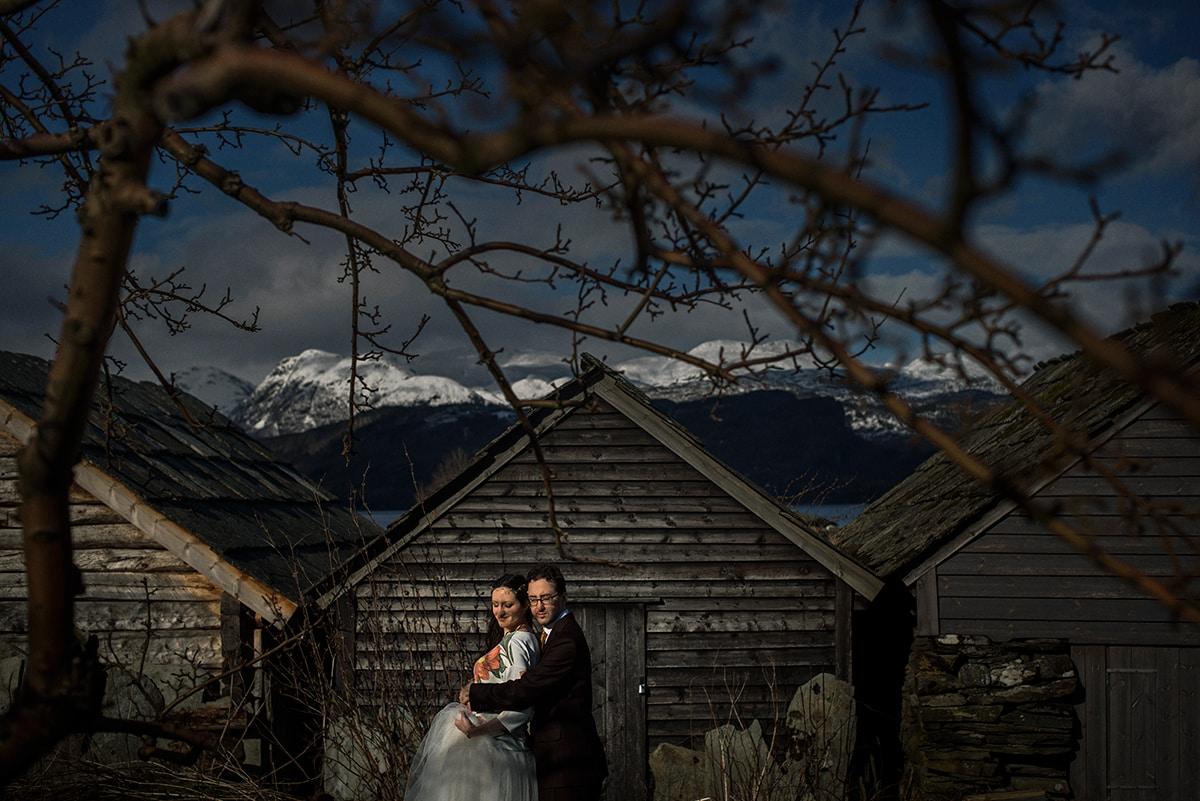 Marta i Kostek - sesja plenerowa w Norwegii