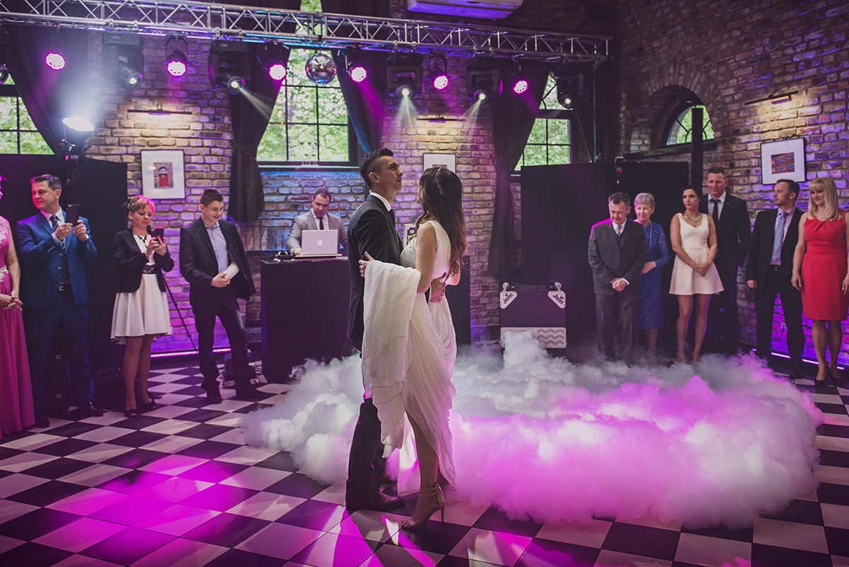 Ola i Jacek - industrialne wesele w Szybie Bończyk