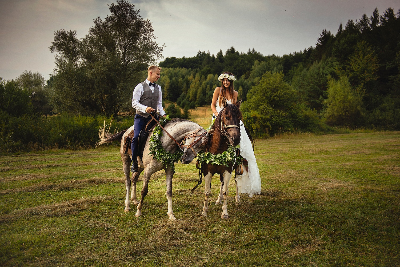 Weronika i Bartek - sesja ślubna