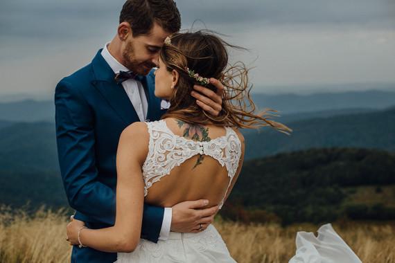 Magda i Piotrek – ślubna sesja w Bieszczadach