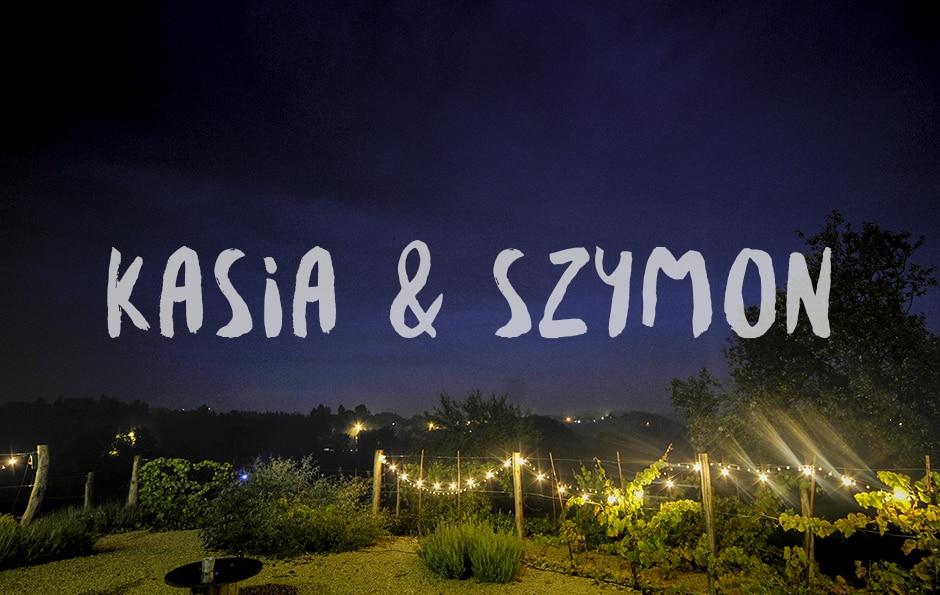 Kasia i Szymon - wesele w Dolinie Cedronu