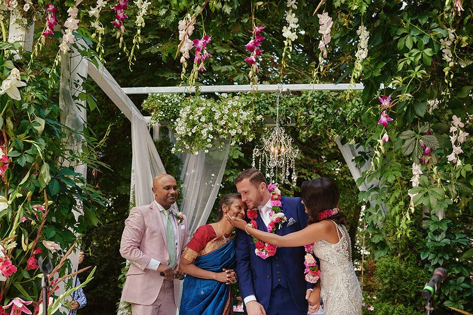 Shivani & Yakub - polsko - hinduski ślub w Endorfinie