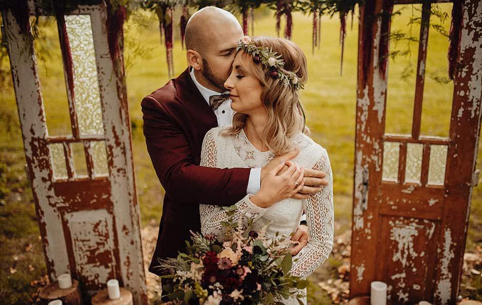 Ela i Maciek – ślub w plenerze – Osada Młyńska