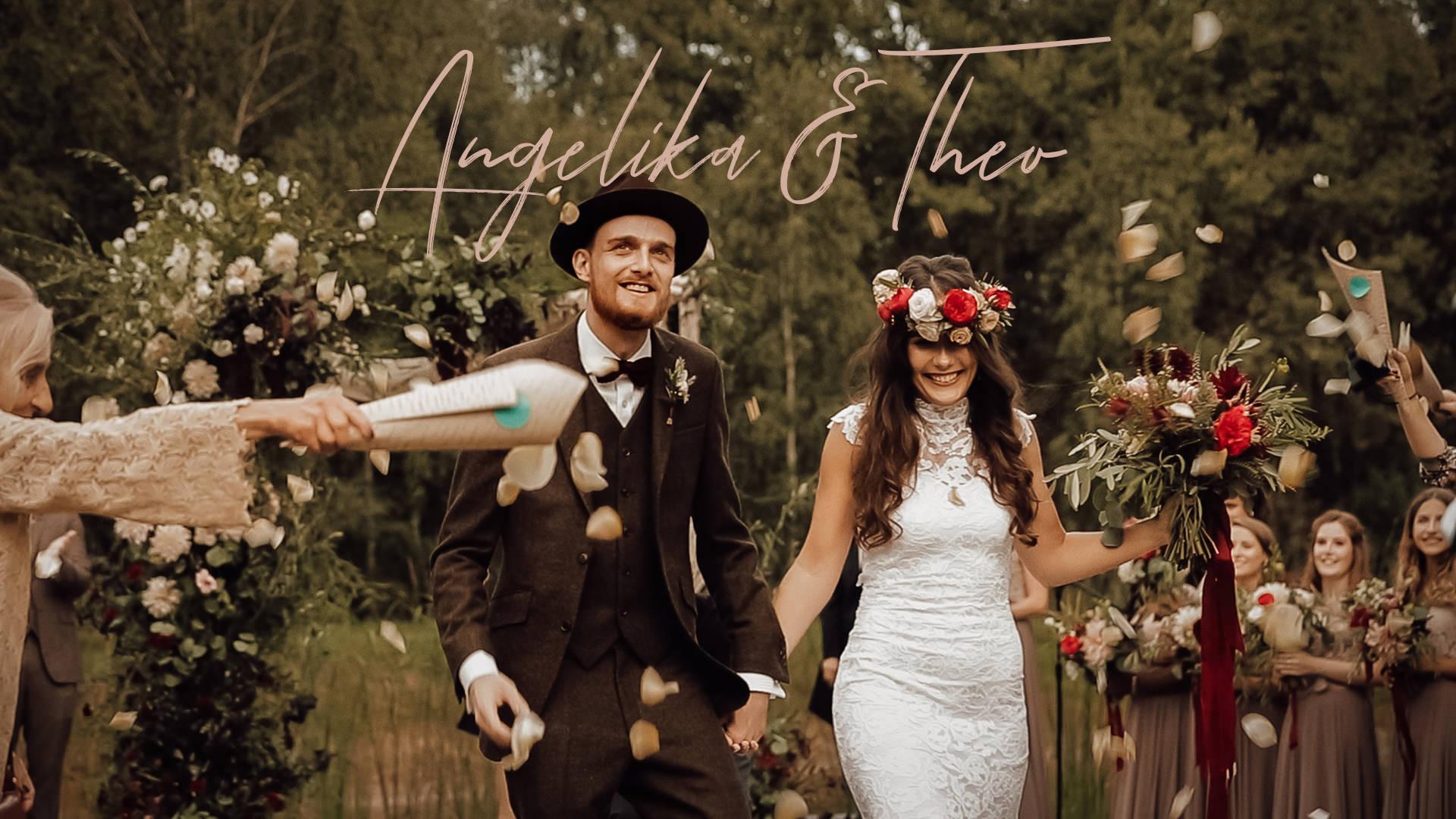 Angelika I Theo ślub W Plenerze Wesele W Stodole Wszystkich