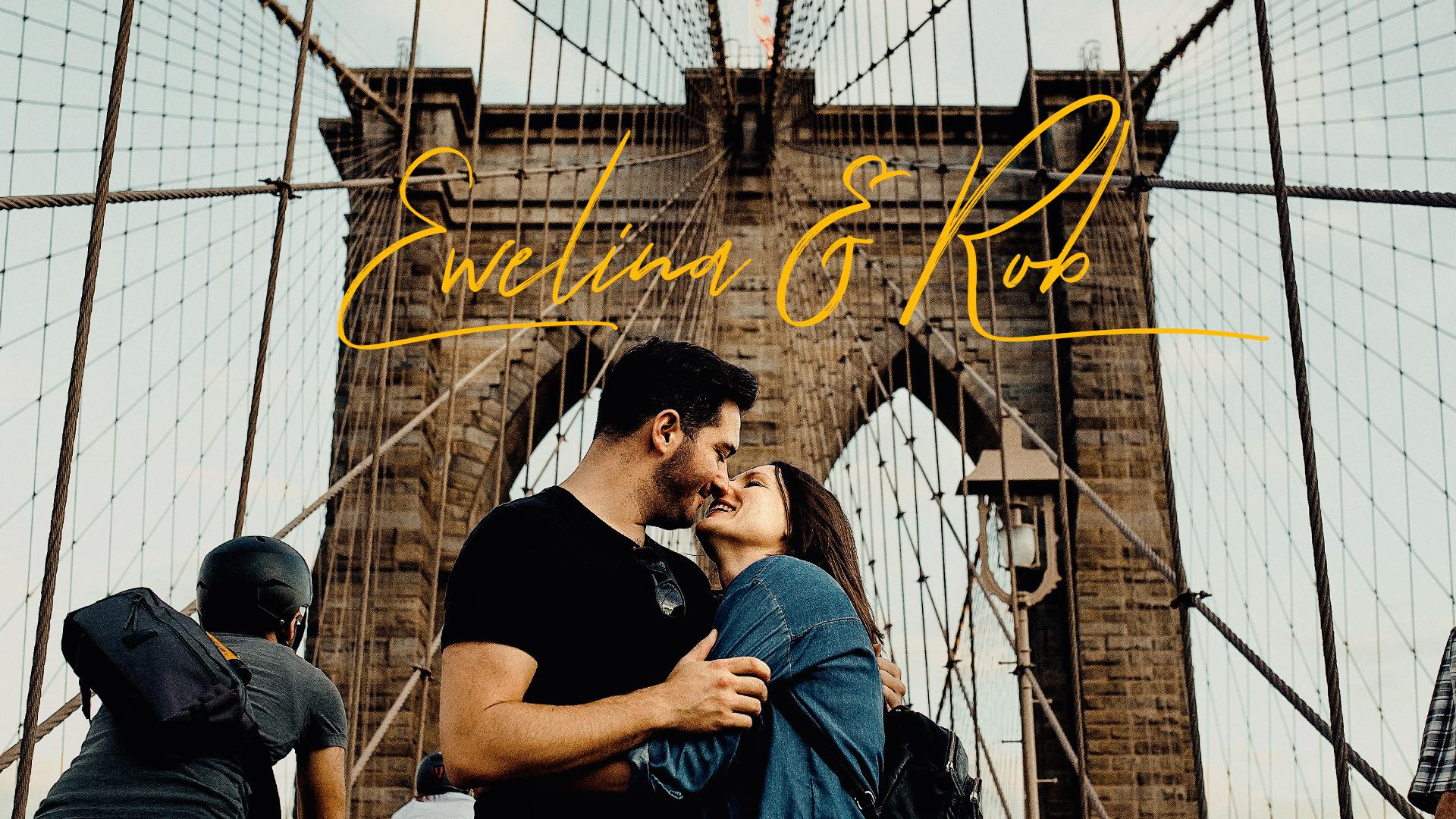 Ewelina & Rob - wesele w Nowym Jorku - trailer
