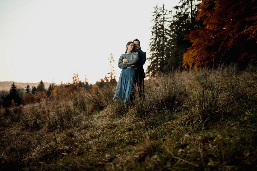 Ewelina i Zbyszek - kameralny ślub w górach