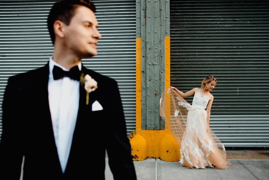 Zdjęcie z sesji małżeńskiej w NYC