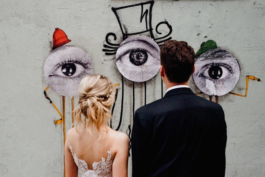 Alternatywna sesja ślubna w Nowym Jorku