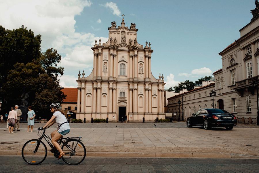 kościół wizytek na krakowskim przedmieściu w Warszawie