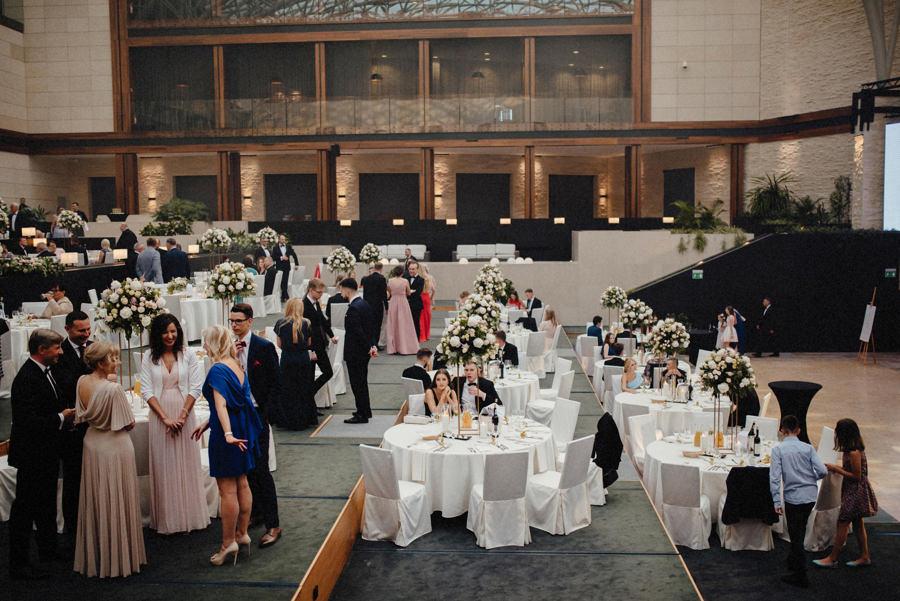 eleganckie wesele w hotelu Arłamów