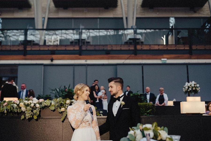 przemówienia podczas wesela w ośrodku Arłamów